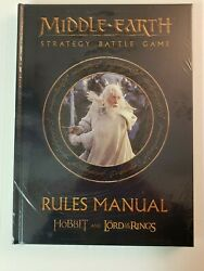 Middle Earth Strategy Battle Game Rules Manual Rulebook Gw Lotr