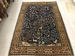 Antique Hand Knotted Indian Rug