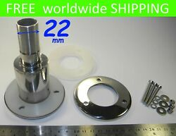 Straight S/ Steel Thru Hull Outlet Exhaust Fitting 22 To Webasto Chinese Heater