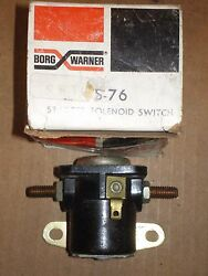Nors 1961 Dodge Dart And Polara 1961-63 Plymouth 6 12 Volt Solenoid Switch 2095607