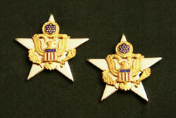 Us Army General Staff Officer Collar Branch Insignia Pair