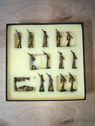 Military Miniatures By Martin Richie Toy Soldiers Set139 Usmc Ww1 15 Pieces