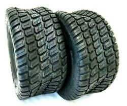 Two-16x6.50-8 Lawn 16 650 8 4 Ply D838 Grassmaster Style Lawn Mower Tires