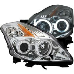 121396 Anzo Headlight Lamp Driver And Passenger Side New Coupe Lh Rh For Altima