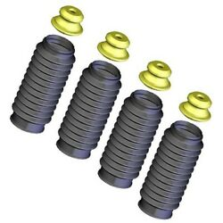 Set-kysb103 Kyb Shock And Strut Boots Set Of 4 Front And Rear New For Olds Vw 240