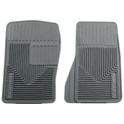 51072 Husky Liners Floor Mats Front New Gray For Chevy Olds S10 Pickup Explorer