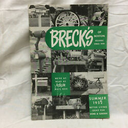 Vintage 1952 Advertising Mail Order Breck#x27;s of Boston Catalog