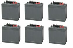 Replacement Battery For Terex Corp / Genie Z-30/20 Hd 36 Volts 6 Pack 6v
