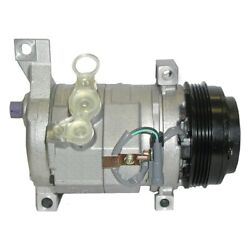 15-21177 Ac Delco A/c Compressor New For Chevy Avalanche Express Van With Clutch