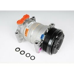 15-22124 Ac Delco A/c Compressor New For Chevy Olds Suburban Savana With Clutch