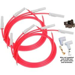 31199 Msd Spark Plug Wires Set Of 8 New For Ram Truck Wm300 Country Custom F150