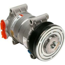 Cs0120 Delphi A/c Compressor New For Chevy Olds Suburban Express Van With Clutch