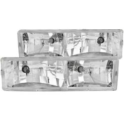 Anzo 111004 Headlight For 88-98 Gmc C1500 Left And Right