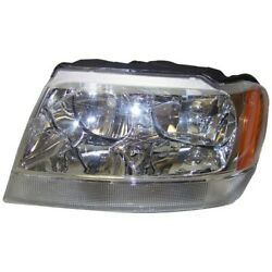 55155577ae Headlight Lamp Driver Left Side New Lh Hand For Jeep Grand Cherokee