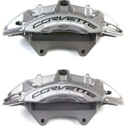 Set-ac1722651-f Ac Delco Brake Calipers 2-wheel Set Front Driver And Passenger New