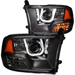 111270 Anzo Headlight Lamp Driver And Passenger Side New For Ram Truck Lh Rh 1500