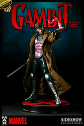 Sideshow Collectibles Gambit Premium Format Exclusive Marvel X-men Free Shipping