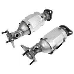 Set-wk16467 Walker Set Of 2 Catalytic Converters Front Driver And Passenger Pair