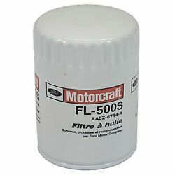 Fl-500s Motorcraft Oil Filter New For Chevy Ram Truck F150 Ford F-150 Chevrolet