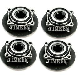 Set-tm513226-4 Timken Set Of 4 Wheel Hub And Bearings New Lh And Rh For Cooper