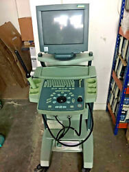 Bk Medical Falcon 2101 Ultrasound Machine W/ 8658t And 8658s Transducer And Printer
