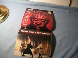 Lays Potato Chip Star Wars Episode I Poster Darth Maul Can't Resist 1999