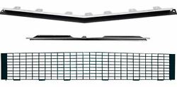Oer Rs Grill Kit W/o Silver Trim W/o Headlamp Bezels 1967-1968 Chevy Camaro Rs