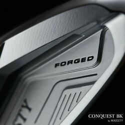 Maruman Golf Japan Majesty Conquest Bk Forged Ironset 56789pw Steel 2021c