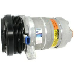 Cs0123 Delphi A/c Ac Compressor New For Chevy With Clutch Chevrolet Camaro Buick