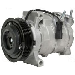 158377 4-seasons Four-seasons A/c Ac Compressor New For Ram Truck With Clutch