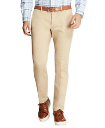 Brooks Brothers Men's Garment-dyed Chinos Pants, Natural 38x32 5281-9