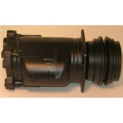 7511249 Gpd A/c Compressor New For Chevy Mercedes Express Van Blazer With Clutch