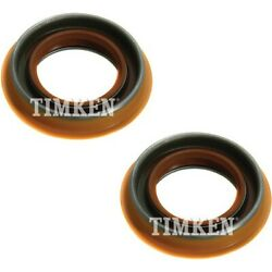 Timken Set-tm9864s-2 Wheel Seal For 99-2016 Ford F-350 Super Duty