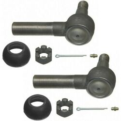 Set-moes423l-2 Moog Tie Rod Ends Set Of 2 Front Or Rear Driver And Passenger Pair