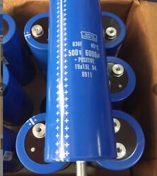 For 1pc 6000uf 500v Electrolytic Capacitor 75220mm