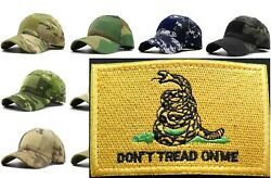 Gadsden Flag Donand039t Tread On Me Morale Patch Tactical Operator Hat