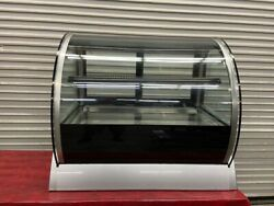36 Refrigerated Display Case Counter Top Bakery Curved Glass Vollrath 4044