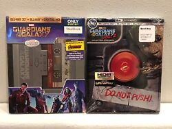 Guardians Of The Galaxy Vol 1 And 2 Steelbook 3d Best Buy New