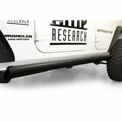 Amp Research 75122-01a Running Board For 2007-2017 Jeep Wrangler New