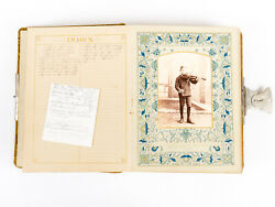 Late 1800's Victorian Photo Album For Davis And Murray Familes Genealogy 38 Photos