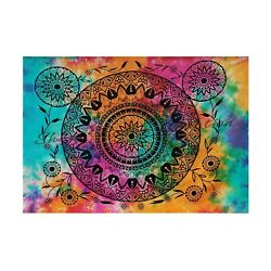 Unique Art Mandala Indian Wall Poster Hippie Wall Tapestry For Home Decoration