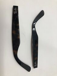 Authentic Temple Replacement PARTS Ray Ban RB2132 New Wayfarer 902 Tortoise MS07 $36.00