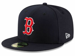 New Era Boston Red Sox GAME 59Fifty Fitted Hat Navy MLB Cap