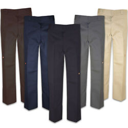 85283 Menand039s Double Knee Cell Phone Pocket Loose Fit Work Pants