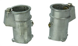 Set Of 2 - Ladder Anchor Sockets For In-ground Swimming Pool Ladder And Stair Rail