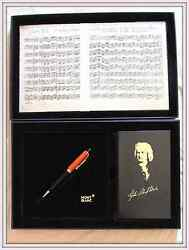 Bach Special Edition Ballpoint Pen New In Box With All Papers