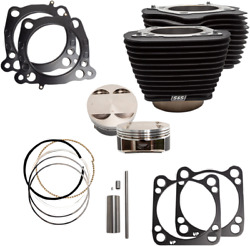 S And S Cycle 910-0681 124 Big Bore Kits For M-eight 107 Engines 17-19 Harley M8