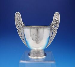 Japanese By And Co Sterling Silver Sugar Bowl W/wings 3205m9248 4364