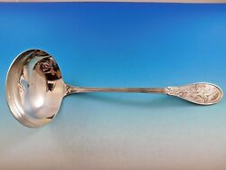 Japanese By And Co. Sterling Silver Soup Ladle Round Bowl 12 3/4
