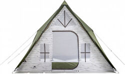 Ozark Trail 12 Person A Frame Cabin Tent Mesh Roof Outdoor Camping Shelter Hike